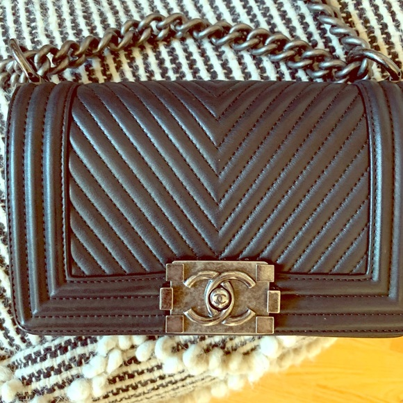 CHANEL Handbags - Chanel mini boy bag